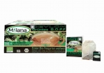1 x 100 ORGANIC GREEN TEA TEABAGS B.O.P.F. with 10 % benefits support