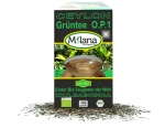 1 kg ORGANIC LOOSE GREEN TEA O.P.1 with 10 % benefits support